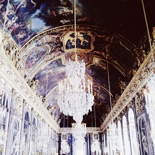hall of mirrors.