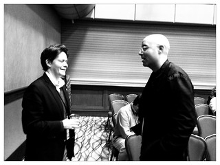 @MitchJoel #NMX in conversation at C.C. Chapmans session