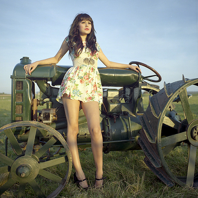John Deere Babes : Tractor girls cover image flickr photo sharing