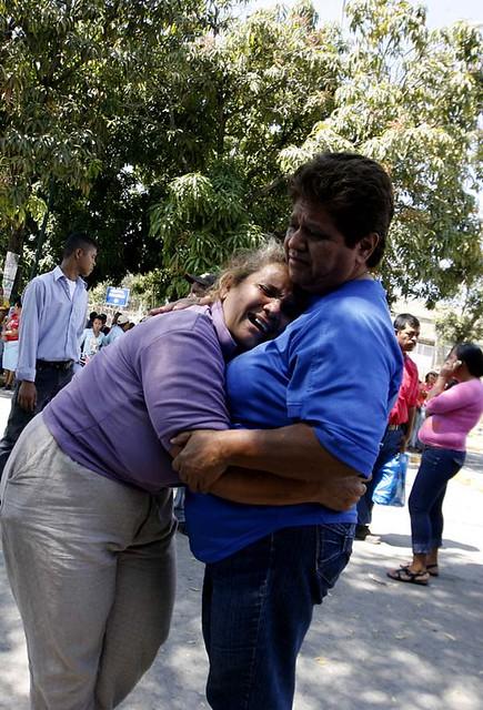 Familiares de muertos y heridos de la cárcel de Uribana.