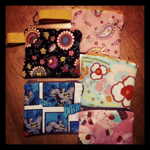Wristlets and pouches!