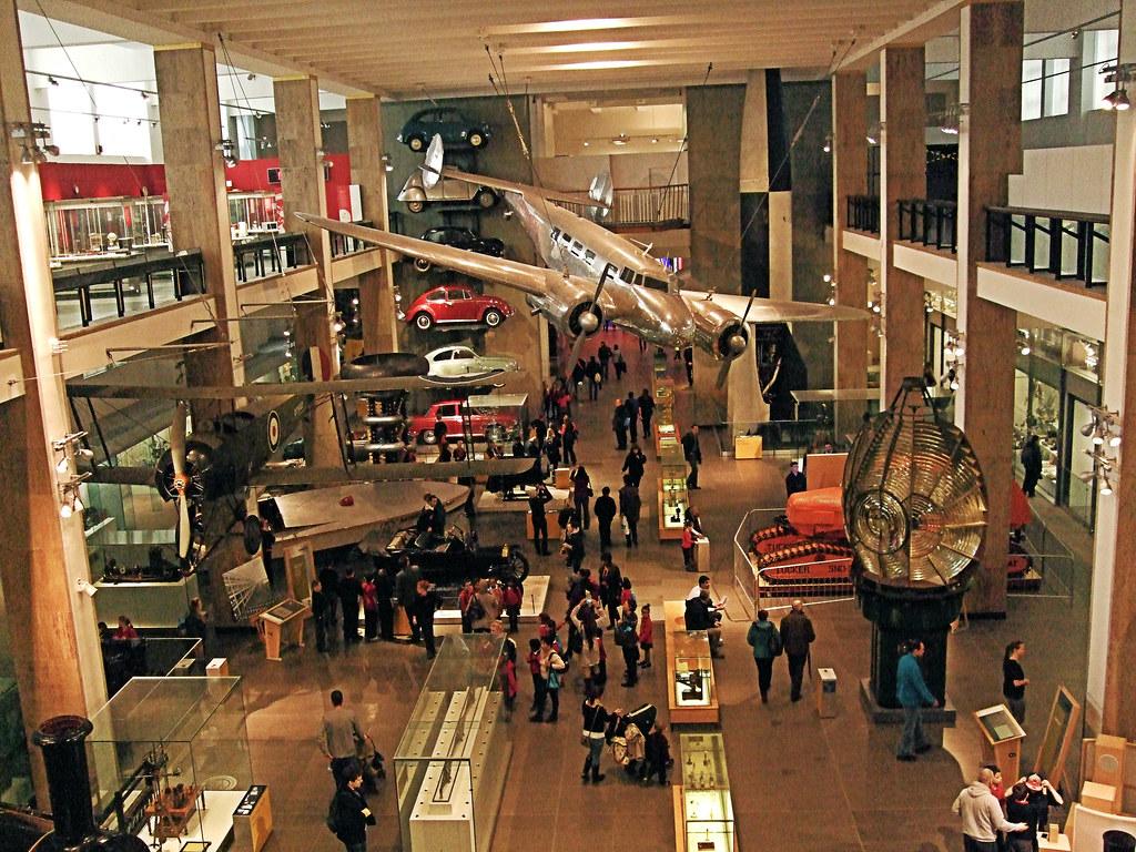 A l'intérieur du Musée des Sciences de Londres - Photo de Jim Linwood