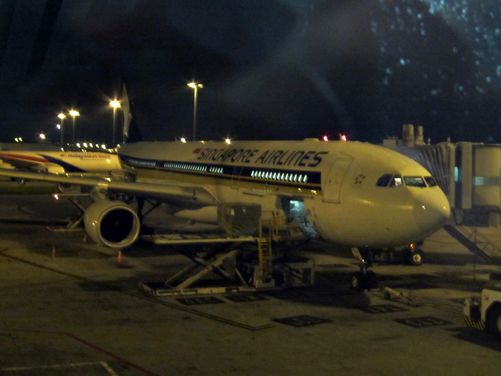 Review of Singapore Airlines flight from Kuala Lumpur to Singapore ...