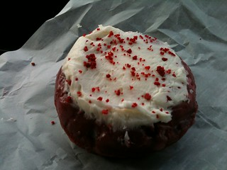 Red Velvet Donut From Gibsons