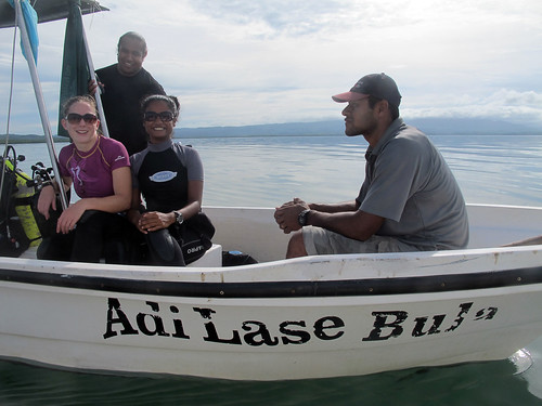 Marine Crew on the Adi Lase Bula