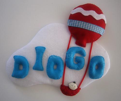 ♥♥♥ Diogo ... by sweetfelt \ ideias em feltro