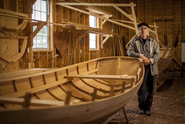 Master Boat Builder, Wooden Boat Museum of Newfoundland and Labrador