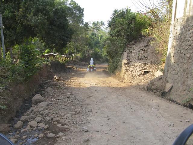Fr Gränsentill Santa Ana, Salvador 070