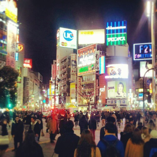Saturday night, Shibuya Night #shibuya#crossing#tokyo#japan
