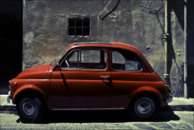 Fiat Nuova 500 / Firenze / Italy