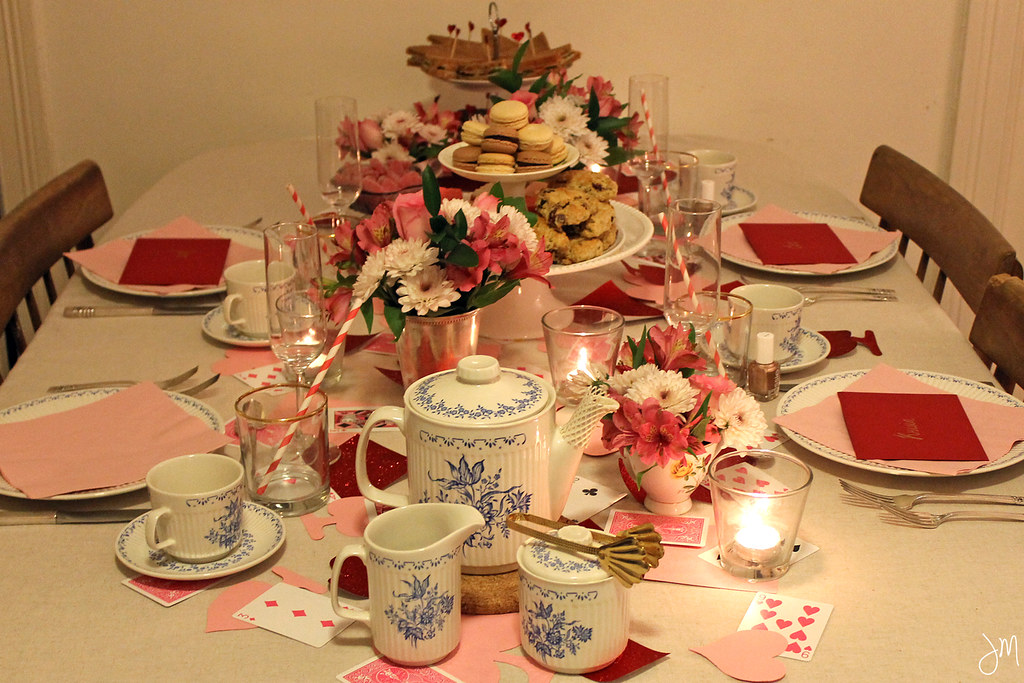 Julip Made Girls Valentines Day Tea Party7
