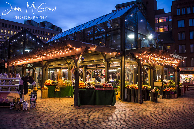 Fruit Stand - Quincy Market - Boston MA