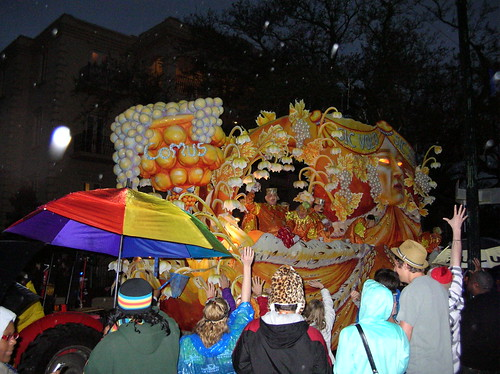 Proteus's Comus float