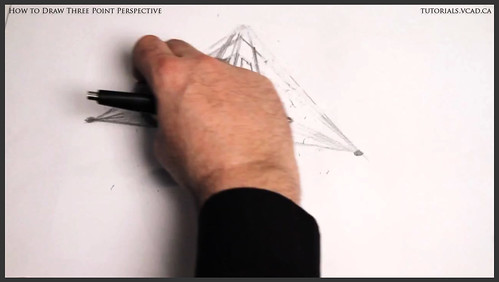 learn how to draw three point perspective 005