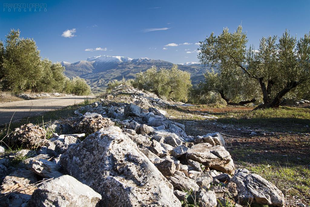 La Pandera desde Jabalcuz