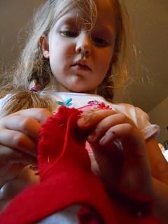 Hand Sewing 2- Lambkin (8)
