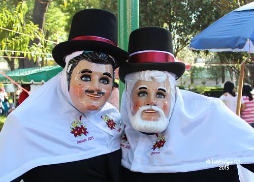Carnaval Tlaxcala 2013 - Los Catrines de Amaxac - Tlaxcala - México