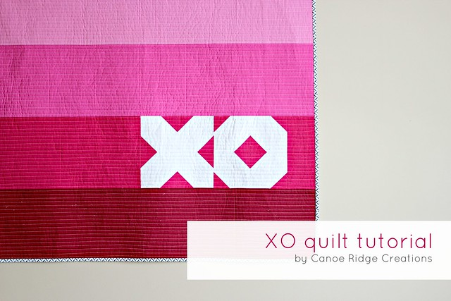 XO quilt tutorial.