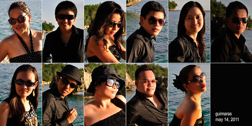 Bakasyonistas at Guisi Beach