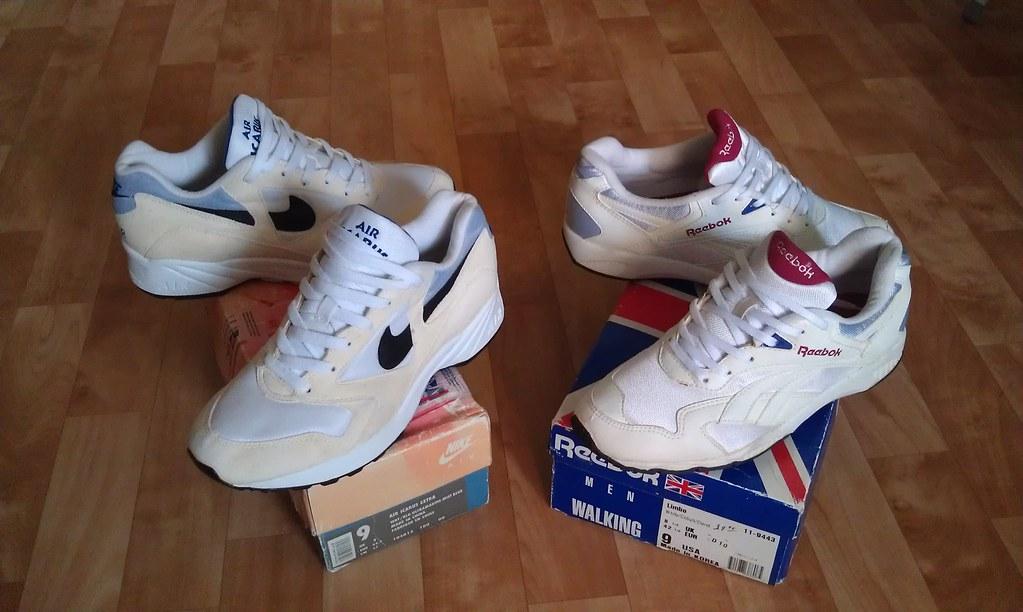 check out ac42f 7254e ... 1993 Nike Air Icarus Extra x 1992 Reebok Limbo  by borisXboris