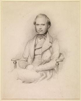 Charles Darwin by George Richmond. Cambridge University Library.