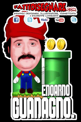 Edoardo Guadagno SUPER MARIO BROS by Giuseppe Lombardi