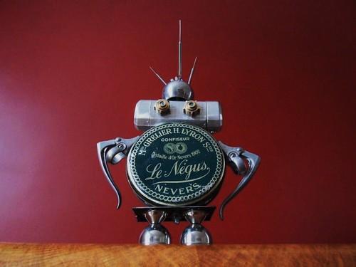 Negus the robot