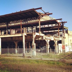 Old Oakland train station that I never knew existed