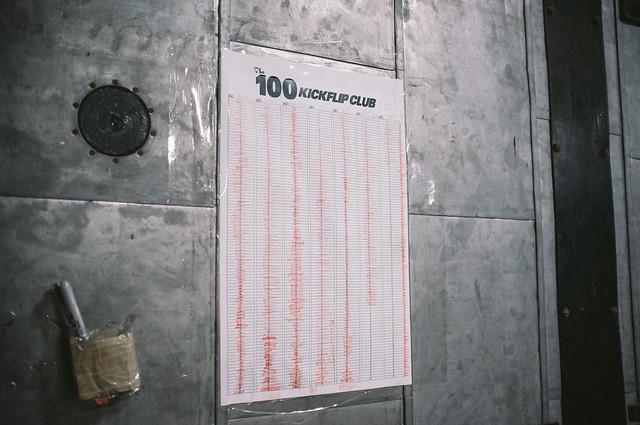 100 Kickflips