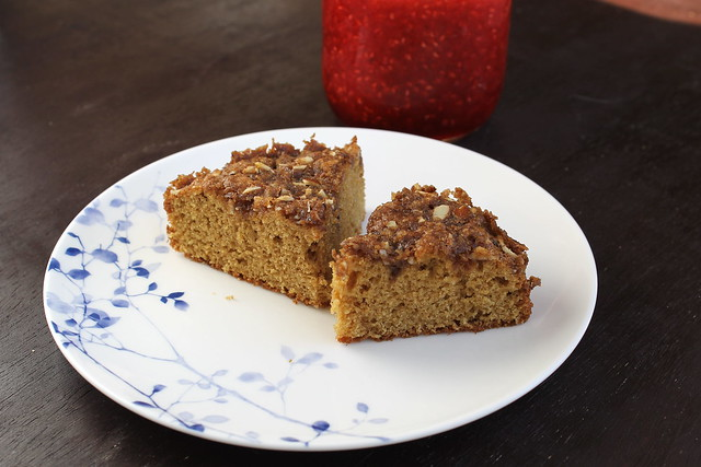 Overnight Coffee Cake for Two