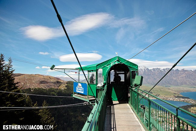 The Ledge Bungy Queenstown | Day 4 New Zealand Sweet as South Contiki Tour | A Guide to South Island