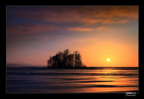 winter sunset sky lake snow ice clouds sunrise canon suomi finland landscape lumi talvi hdr maisema joensuu järvi pilvi taivas pyhäselkä kuhasalo valokuvaus iselet