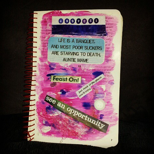 Favorite Quote Challenge #artjournal by quilter4010