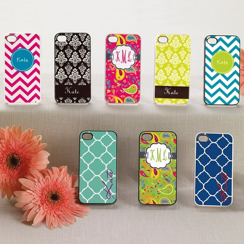{Bridesmaids Gifts} Personalized iPhone Covers by Nina Renee Designs