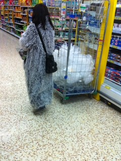 I saw a yeti in Tesco earlier. Here's the proof. by benparkuk