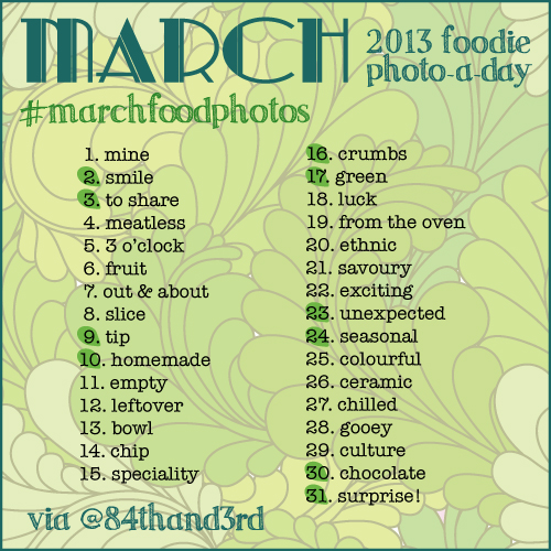 #marchfoodphotos