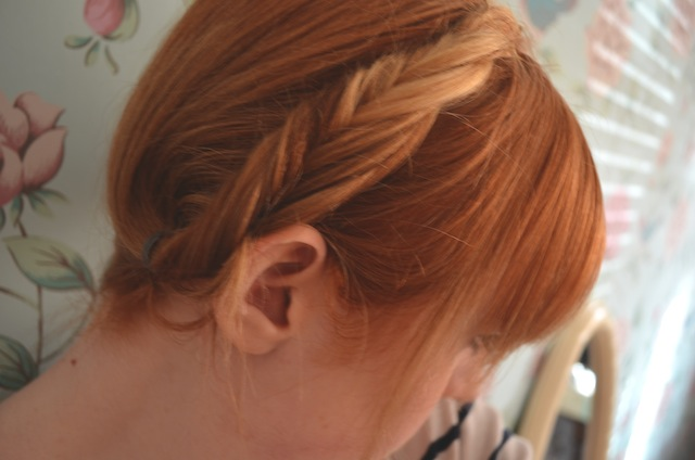 fishtail plaits/braids three ways to wear milkmaid braids