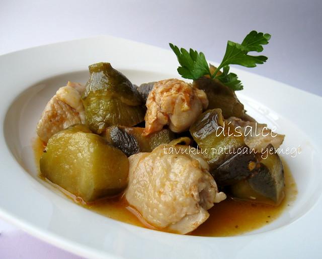 tavuklu patlıcan yemeği
