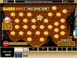 Pollen Nation Bonus Game