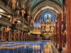 Notre Dame Basillica in Montreal