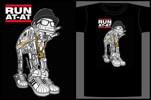 RUN AT-AT Tees by XTROSPECTIV ARTCORE