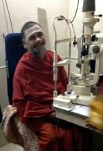Swami inauguration eyeclinic Mumbai 2013