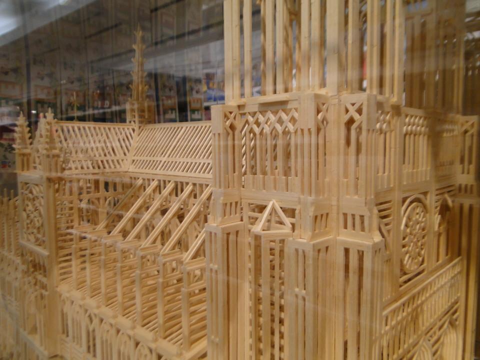 Matchitecture Building Set.  Notre-Dame-de-Paris Cathedral  FAO Schwarz 5th Avenue 8 26fb13_429