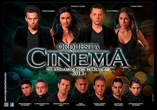 Cinema 2013 - orquesta - cartel