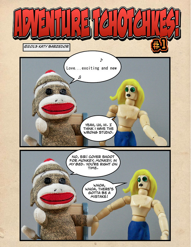 Adventure Tchotchkes #1 - page 1