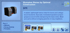 Wumpbox Stereo by Optimal Construction