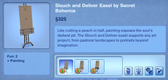 Slouch and Deliver Easel by Secret Bohemia