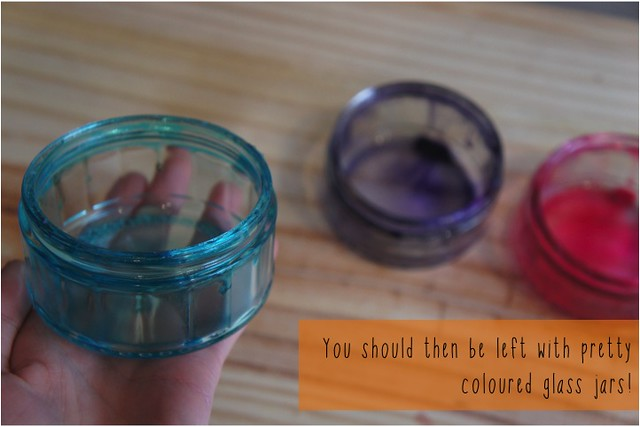 tinted glass jars diy 6