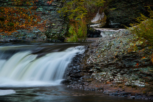 park longexposure history nature dutch forest landscape evening waterfall colorful falls waterfalls area recreation names delawarewatergap dwg raymondkill