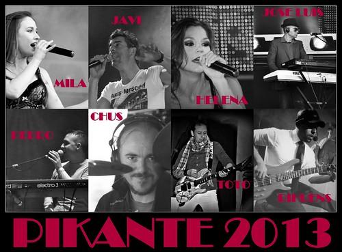 Grupo Pikante 2013 - cartel